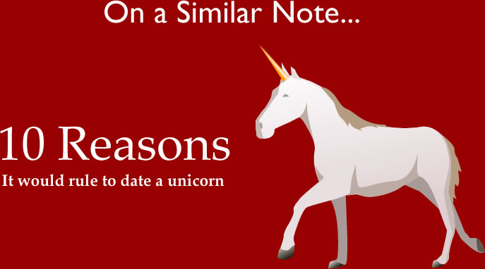10 reasons it would rule to date a unicorn